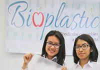 Estudiantes de Oaxaca diseñan plástico biodegradable hecho con avena