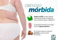 IMSS ofrece tratamiento especializado para derechoahbientes con obesidad mórbida