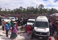 Entregan Cruz Roja y fundación IEnova apoyo a tarahumaras