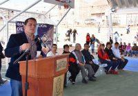 Invierte Presidencia Municipal 1.3 MDP en domos y canchas en dos primarias
