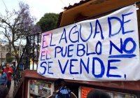 Niegan amparos contra decretos de privatización del agua en México