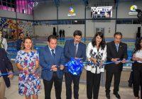 Inauguran Javier Corral y Beto Pérez el Polideportivo de Cuauhtémoc
