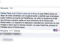 Alcalde de Cuauhtémoc reclama al superdelegado federal de trabajar para el gobernador