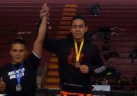 El cuauhtemense Fernando Mata es campeón estatal de MMA