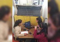 Abren estudiantes de secundaria su propia estación de radio en la Sierra