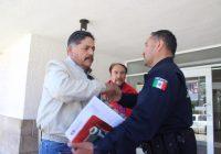 Fuman pipa de la paz alcalde de Cuauhtémoc y Mando Único