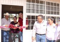 Inauguró alcalde de Cuauhtémoc obras por 2.6 MDP en Lázaro Cárdenas