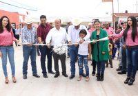 Inaugura alcalde de Cuauhtémoc 10 frentes de pavimentación y da el banderazo de 11 más