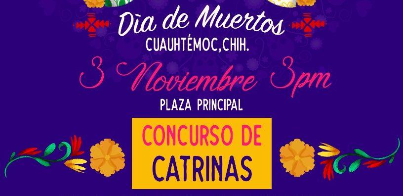 El Municipio de Cuauhtémoc lanza convocatoria para participar en el Concurso de Catrinas