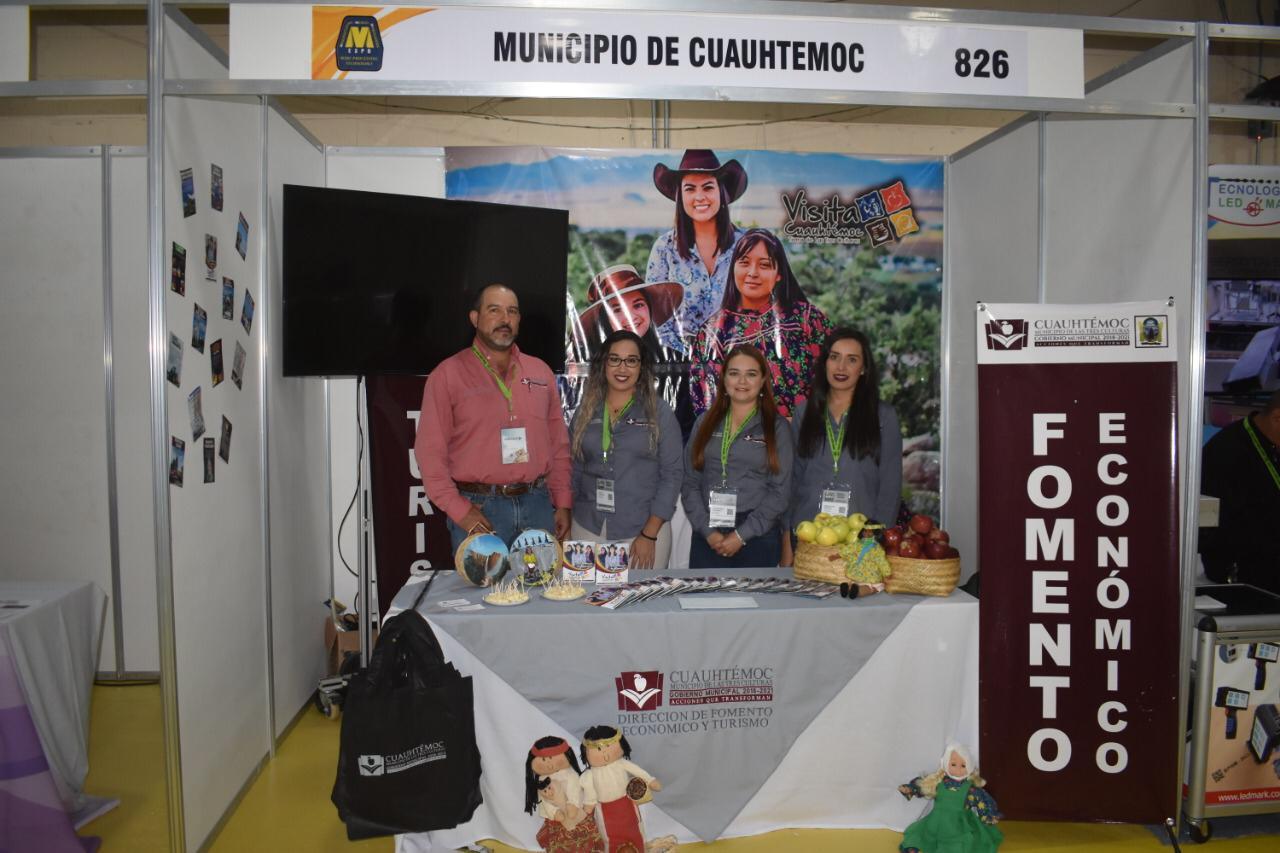 Participó el Municipio de Cuauhtémoc en la Expo Feria Industrial de Juárez