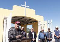 Inaugura Carlos Tena remodelación del panteón de Casa Colorada con una inversión de $600 mil pesos