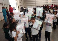 Arranca Presidencia Municipal de Cuauhtémoc entrega de 10 mil paquetes de útiles escolares