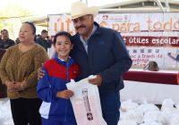 Avanza entrega de útiles escolares por parte de la Presidencia Municipal de Cuauhtémoc