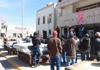 Presidencia Municipal de Cuauhtémoc entrega apoyos a damnificados por lluvias