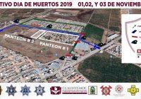 Así será el operativo en los panteones de Cuauhtémoc para el Día de Muertos