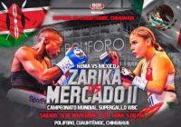 Próximo sábado la cuauhtemense Yamileth Mercado buscará el título Supergallo de la WBC