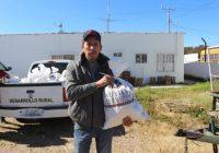 Municipio de Cuauhtémoc entrega apoyo alimenticio a 180 familias rurales cada mes