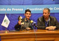Alumno del Conalep Cuauhtémoc recibe Medalla al Mérito Deportivo