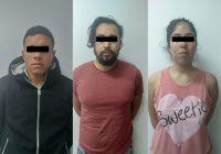 Detiene AEI a tres con armas, droga y auto robado en Cuauhtémoc