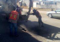 Reporta Municipio de Cuauhtémoc la atención a mil baches en el 2020