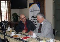 Sostienen reunión alcalde de Cuauhtémoc y el fiscal de la Zona Occidente
