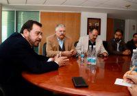 Presidente municipal Romeo Morales realiza visita al Congreso del Estado