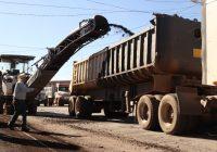 Por concluir obras de 30 mil metros de recarpeteo en Cuauhtémoc