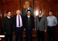 Se reúnen alcalde de Cuauhtémoc Romeo Morales y el gobernador Javier Corral