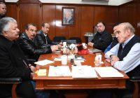 Secretario de Obras Públicas de Gobierno del Estado se reúne con alcalde de Cuauhtémoc
