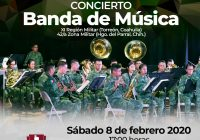 Banda de música de la XI Región Militar se presentará en el Teatro de Cámara en Cuauhtémoc