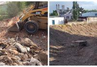 Continúa limpieza de arroyos en Cuauhtémoc
