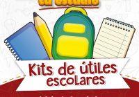 Van 56 escuelas como beneficiarias de kit escolares