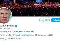 Twitter toma partido y elimina comentario de Trump