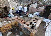 """Descubren negocio de """"comida rápida"""" en Pompeya de más de 2 mil años"""