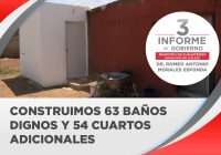 Pre Informe: Consolidaron acciones de vivienda digna