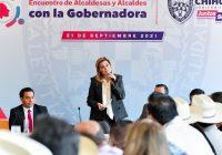 Sin dinero para municipios, Maru pide unidad